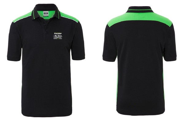 Men's Polo - COLOR - mit komplettem Logo