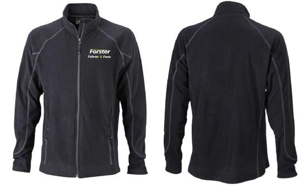 Men's leichte Outdoor Fleece Jacke mit Logo
