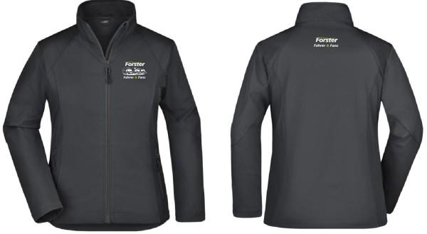 Ladies' Softshell Jacket mit Logo